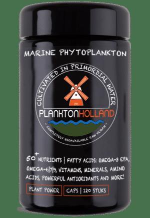 plankton kapseln 120 stück violettenglas Verpackung planktonholland
