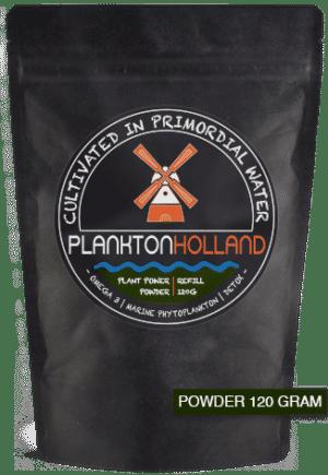 plankton pulver 120 gramm nachfüllung verpackung planktonholland